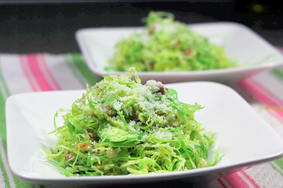 Barbuto – Raw Brussels Sprouts Salad