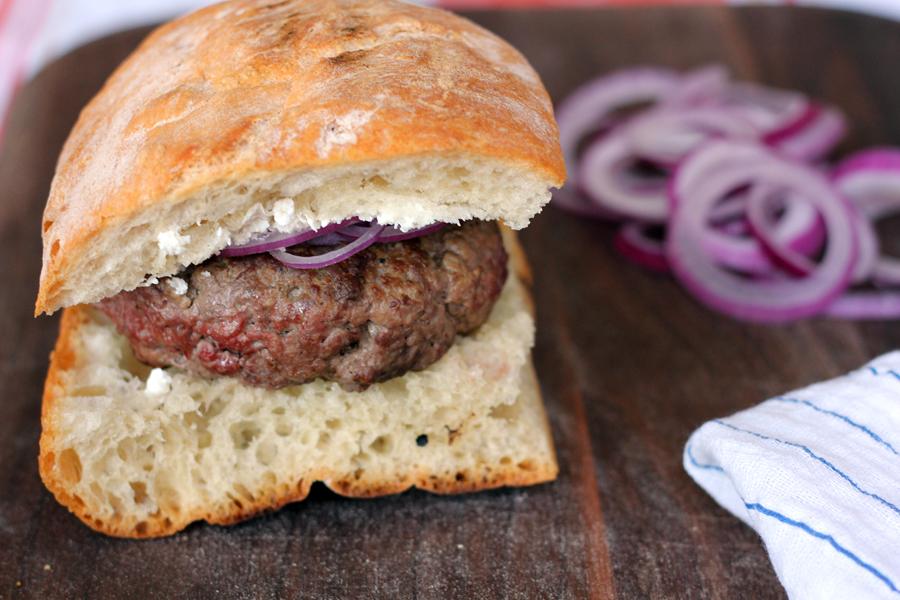 The Breslin Lamb Burger