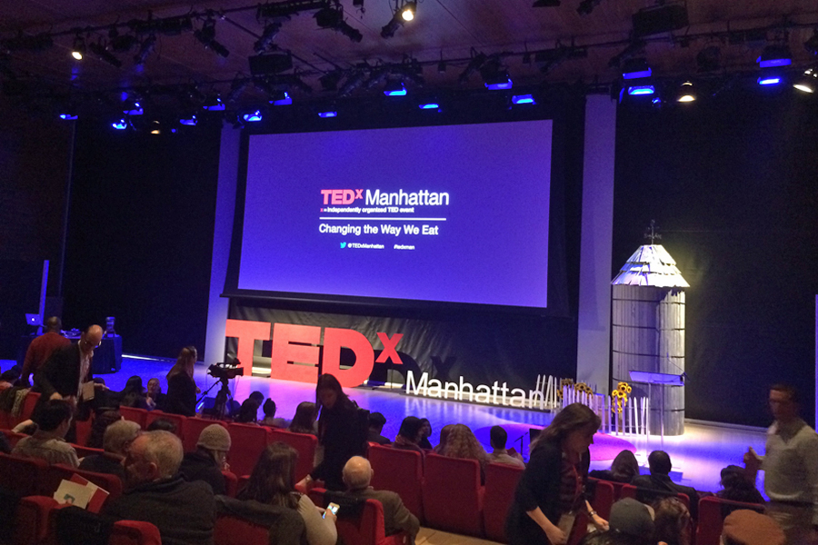 TEDx Manhattan – Changing the Way We Eat