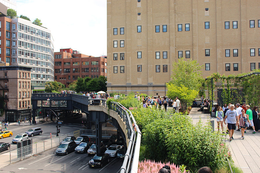 NYC Travel: My Visit to the High Line