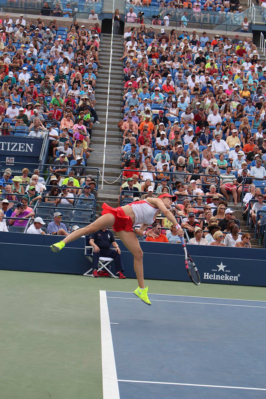US Open NYC Tennis Bouchard