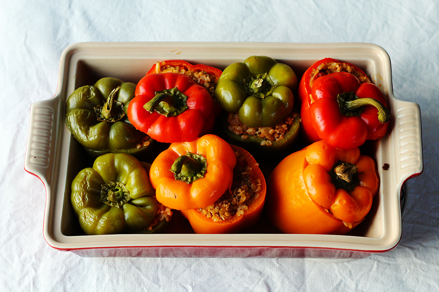 Stuffed Turkish Peppers