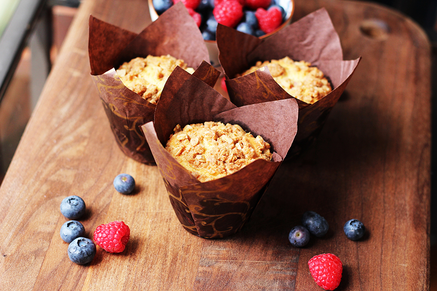 Gramercy Tavern Coffee Cake Muffins Recipe
