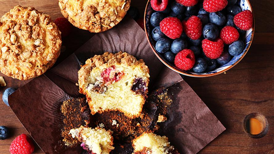Gramercy Tavern Coffee Cake Muffins