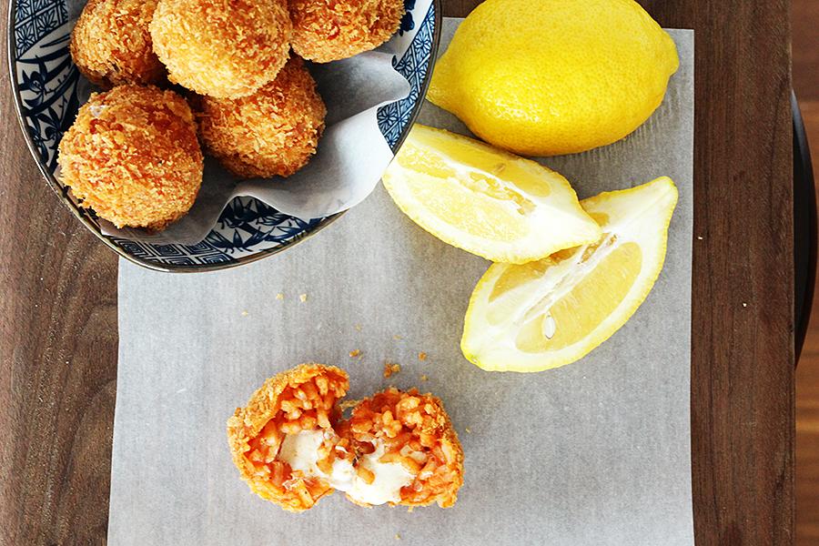 Marta Tomato Risotto Croquettes Recipe