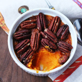 Bourbon pecan sweet potato recipe