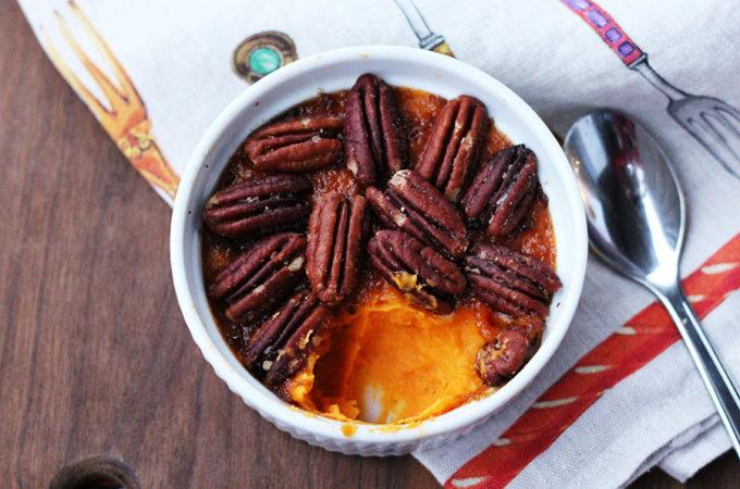 Bourbon pecan sweet potato recipe